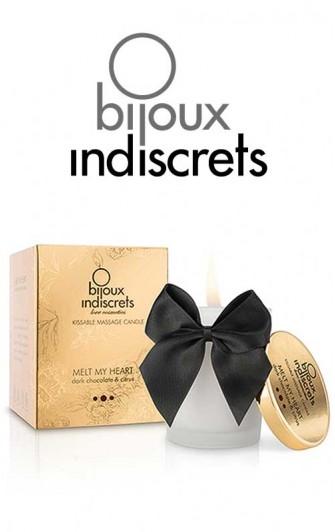 Melt My Heart Bougie de massage Chocolat - Bijoux Indiscrets