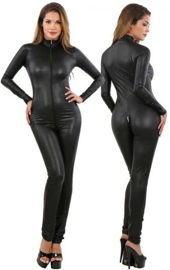 Combinaison Catsuit Noire