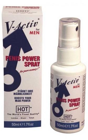 HOT V-Activ Penis Power Spray MEN