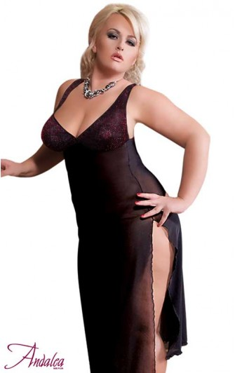 Nuisette Longue Sexy Grande taille