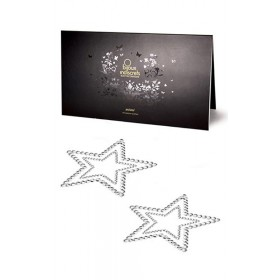 Bijoux de Peau Strass Étoile Argent - Bijoux Indiscrets