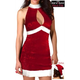 Robe Mère Noël Sexy Eva