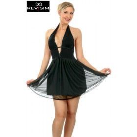 Robe Patineuse Doublée Voile Candice
