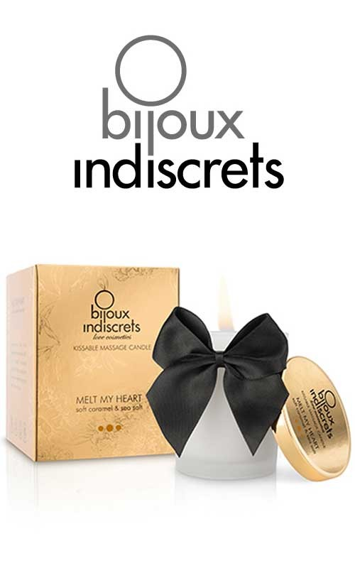 Melt My Heart Bougie de massage Caramel - Bijoux Indiscrets