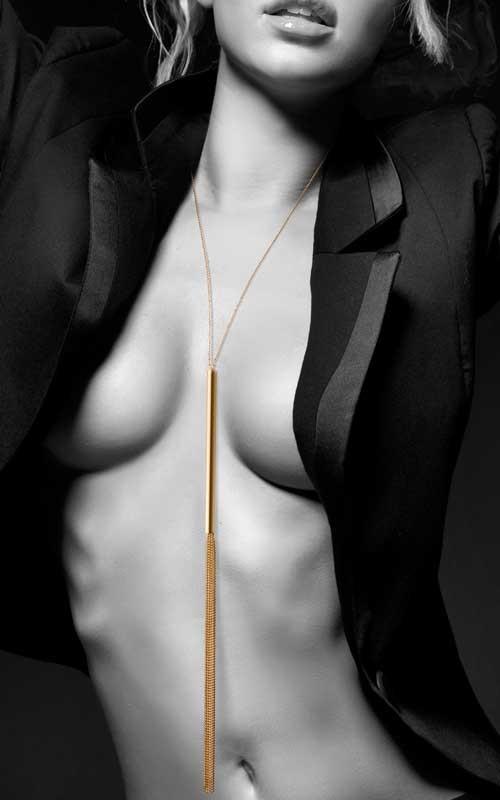 Collier Fouet en chainettes – Bijoux Indiscrets