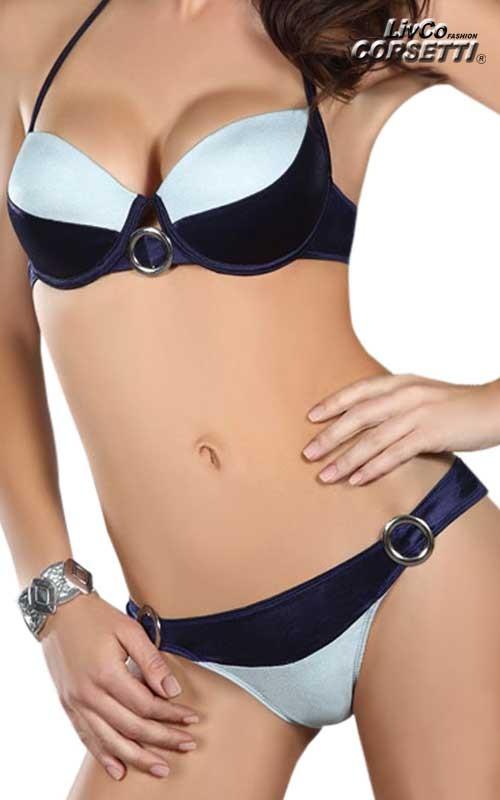 Maillot de bain Bikini 2 pièces Bleu