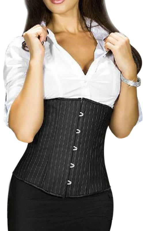 Serre Taille Sexy Noir Façon Tailleur
